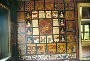 Fig. 3 : Jaganmohan Mahal, 2x2,50 m Photo Ramsons Kala Pratishtana, Mysore