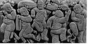 Fig. 8 : Réjouissances villageoises, tombe Houma 65H4M102