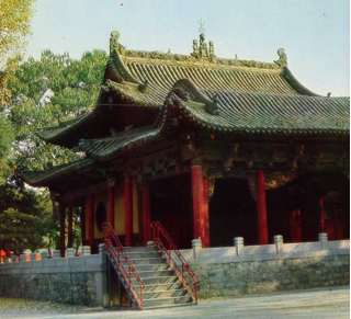 Ill. 1 : Théâtre du Shuijingtai - Jinci - époque Ming