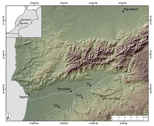 Figure 1 : La plaine du Sous.