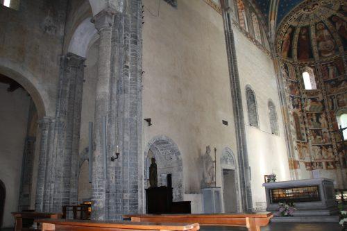 Figure 19. Sant'Abbondio de Côme (Lombardie, Italie) : vue nord-est du chœur